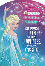 Hallmark Kids' Birthday Card Girl Frozen Elsa