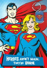 Hallmark Interactive Birthday Card Boy Superman