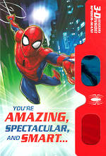 Hallmark Interactive Birthday Card Boy Spiderman 3D