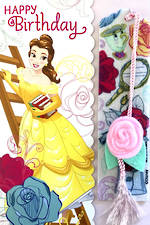 Hallmark Interactive Birthday Card Girl Princess Belle