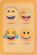 Birthday Card Teen Male Hallmark Emojis