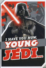 Hallmark Kid's Birthday Card Boy Star Wars Darth Vader