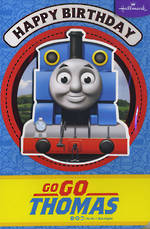 Hallmark Kids' Birthday Card Boy Thomas Tank