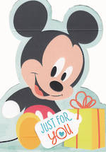 Kids' Birthday Card Boy Hallmark Mickey
