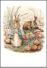 Mini Card Beatrix Potter Peter Rabbit