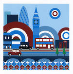 Hallmark Mini Moi London City Blank