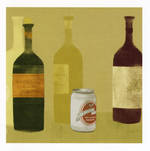 Hallmark Mini Moi Wine Bottles Blank