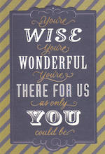 Dad Birthday Card Hallmark Wise Wonderful