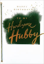 Husband Birthday Card Hallmark Handsome Hubby