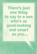 Son Birthday Card Hallmark One Thing