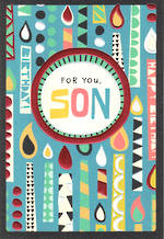Son Birthday Card Hallmark Candles