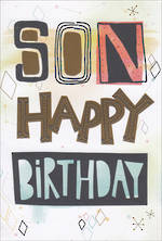 Son Birthday Card Hallmark Text