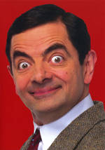 Mr Bean Close Up