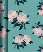 Hallmark Roll Wrap Peonies Box of 24, 3m