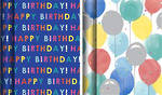 Hallmark Roll Wrap Birthday Box of 12, 3m