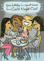 Hallmark Shoebox Birthday Girls Night Out