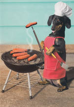 Shoebox Wiener Dog BBQ