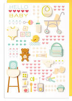 Hallmark Signature New Baby Hello