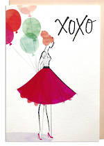 Hallmark Signature Birthday Female XOXO