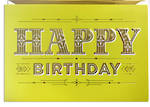 Hallmark Signature Birthday Male Green