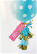 Hallmark Signature Birthday Balloon Tassle