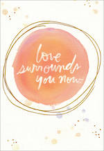 Sympathy Card Hallmark Love Surrounds You