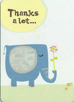 Thank You Card Hallmark Thanks Elephant