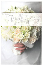 Wedding Card Hallmark Bouquet