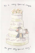 Wedding Card Hallmark Cake Mice