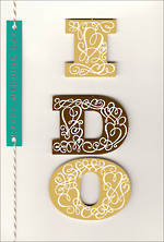 Wedding Card Hallmark I Do