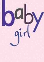 Mini Card Baby Girl