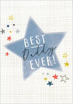 Dad Birthday Card Halcyon Daddy Star