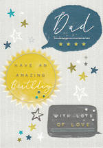 Dad Birthday Card Halcyon Birthday Amazing Dad