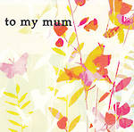 Mum Birthday Card Earthworks Butterflies