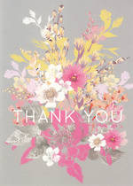 Thank You Card Louise Tiler Flowers