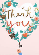 Thank You Card Louise Tiler Vine