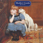 Medici Small Square Little Girl & Dog