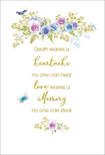 Sympathy Card Heartache