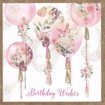 Pizazz Square Birthday Wishes Balloon