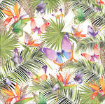 Pizazz Limited Edition Tropical Leaves