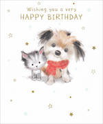 Peanut Birthday Cute Puppy Kitten