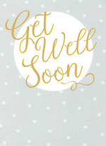 Get Well Card Special Thoughts Get Well Soon