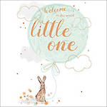 Baby Card Special Occasions Lil Bunny