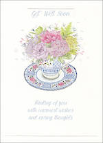 Get Well Card Special Thoughts Cup