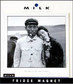 M.I.L.K. Magnets Chinese Couple