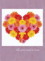Love Card Persimmon Press All You Need
