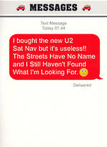 Text Msg Birthday U2