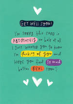 Get Well Card Happy News