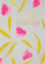 Aura Birthday Tulips