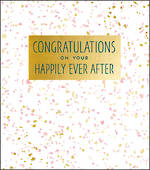 Wedding Card Aura Congratulations Large